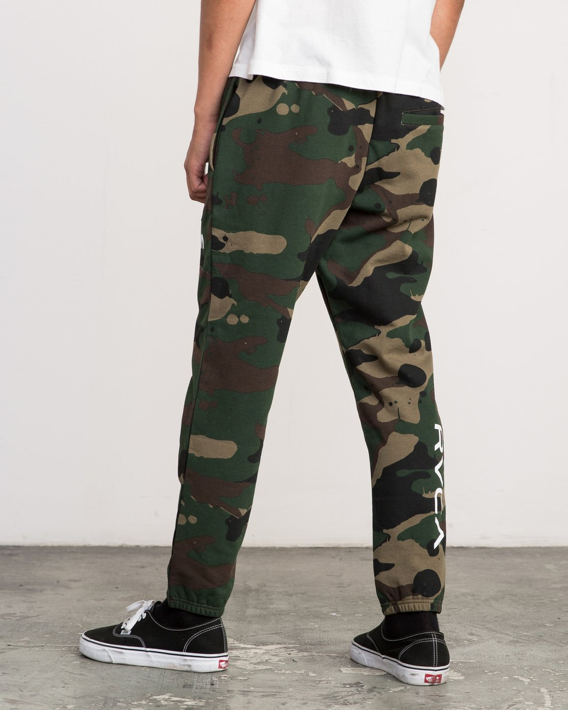 3 Bruce Irons Swift Sweatpant Camo M308PRBS RVCA