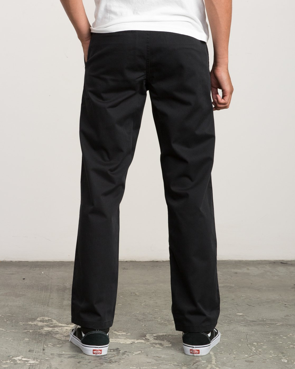 3 Big RVCA Chino Pant Black M308QRBR RVCA