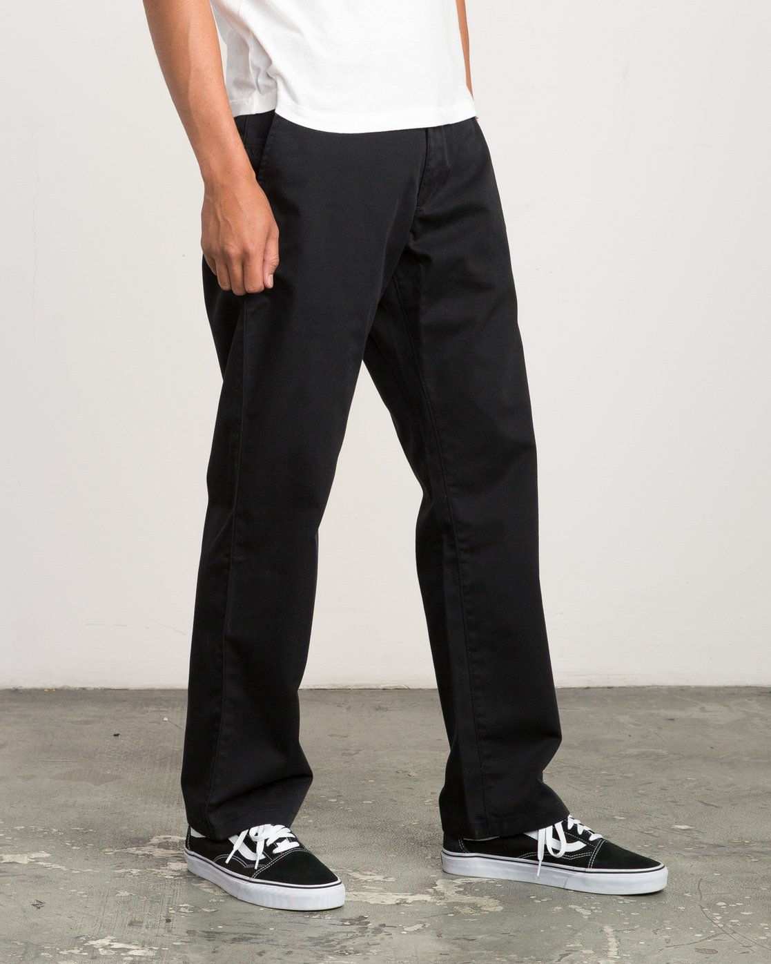 5 Big RVCA Chino Pant Black M308QRBR RVCA