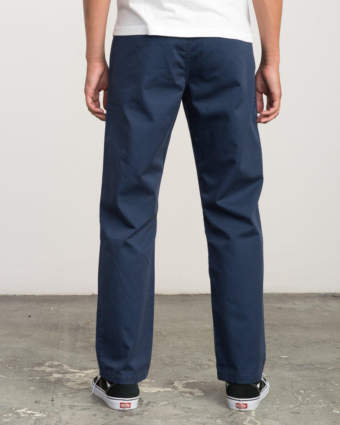 3 Big RVCA Chino Pant Blue M308QRBR RVCA