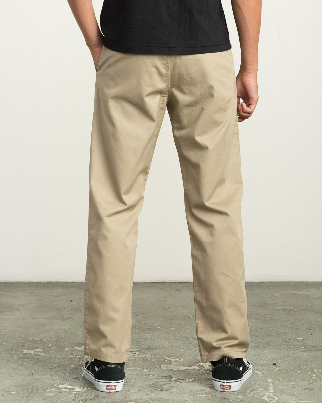 2 Big RVCA Chino Pant White M308QRBR RVCA