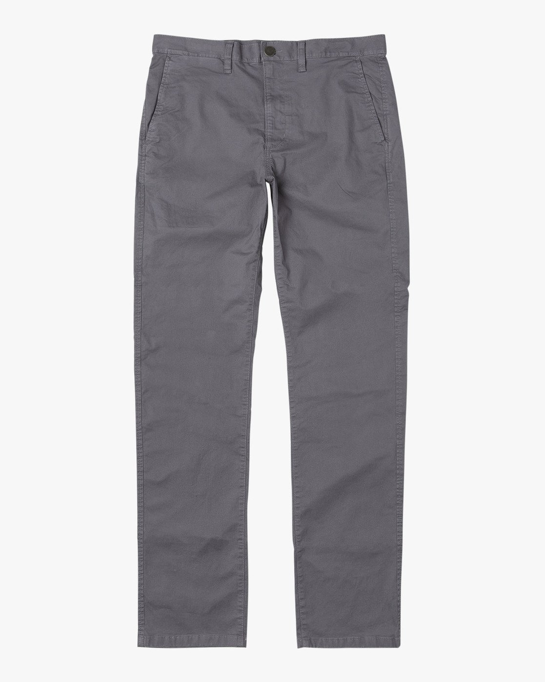 1 Daggers Slim-Straight Chino Pants Grey M309QRDC RVCA