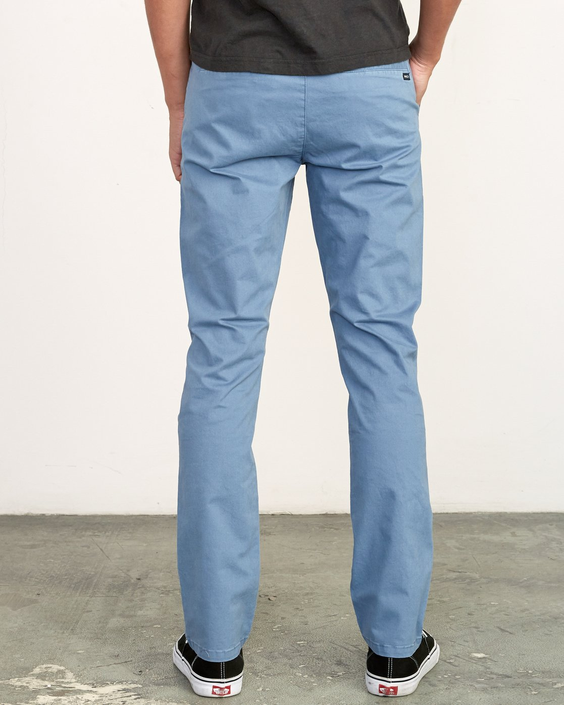 3 Daggers Slim-Straight Chino Pants Blue M309QRDC RVCA