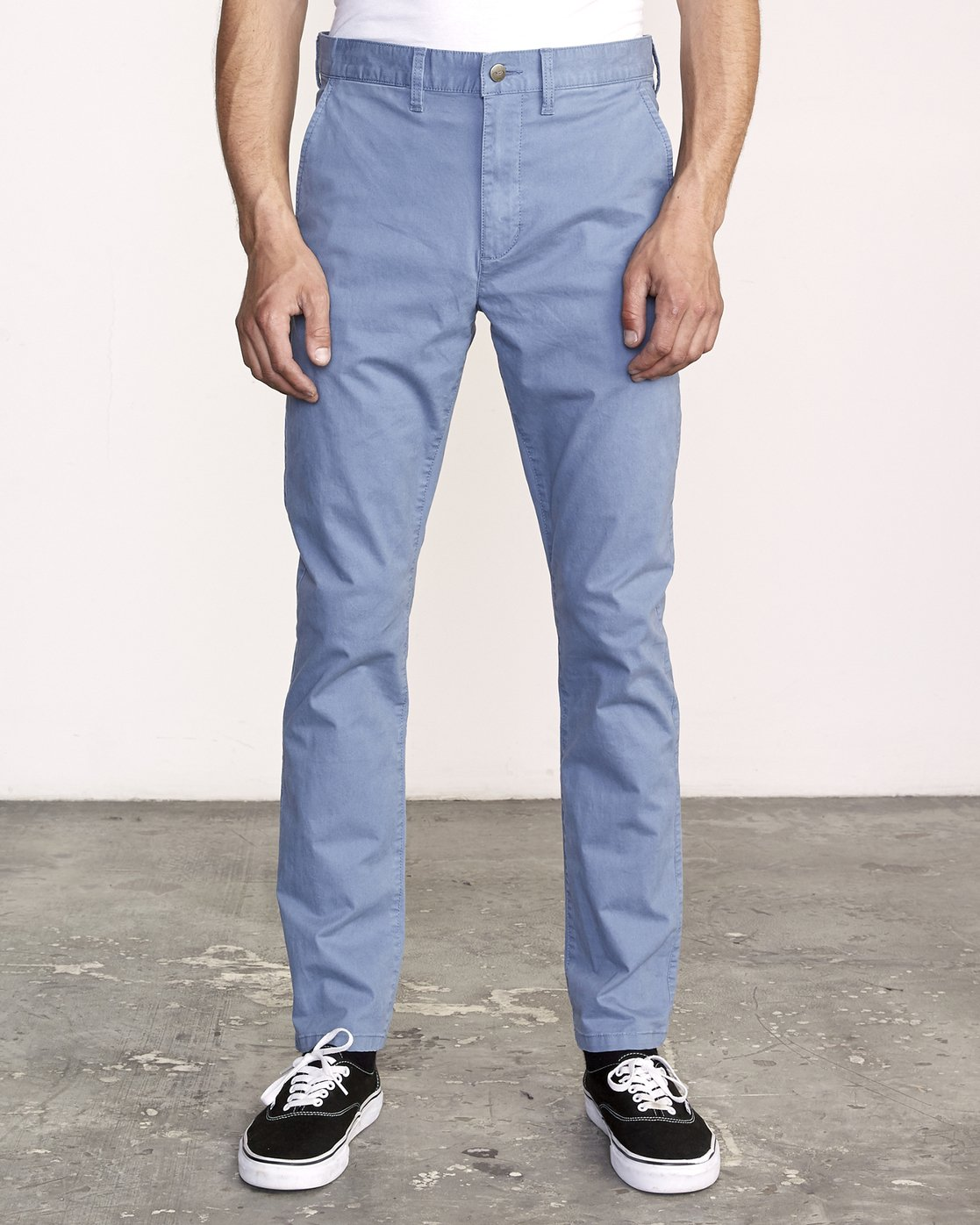 0 Daggers Slim-Straight Chino Pants Red M309QRDC RVCA