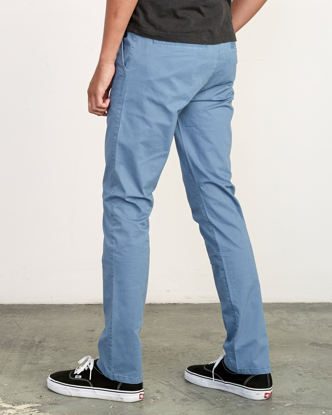 3 Daggers Slim-Straight Chino Pants Red M309QRDC RVCA