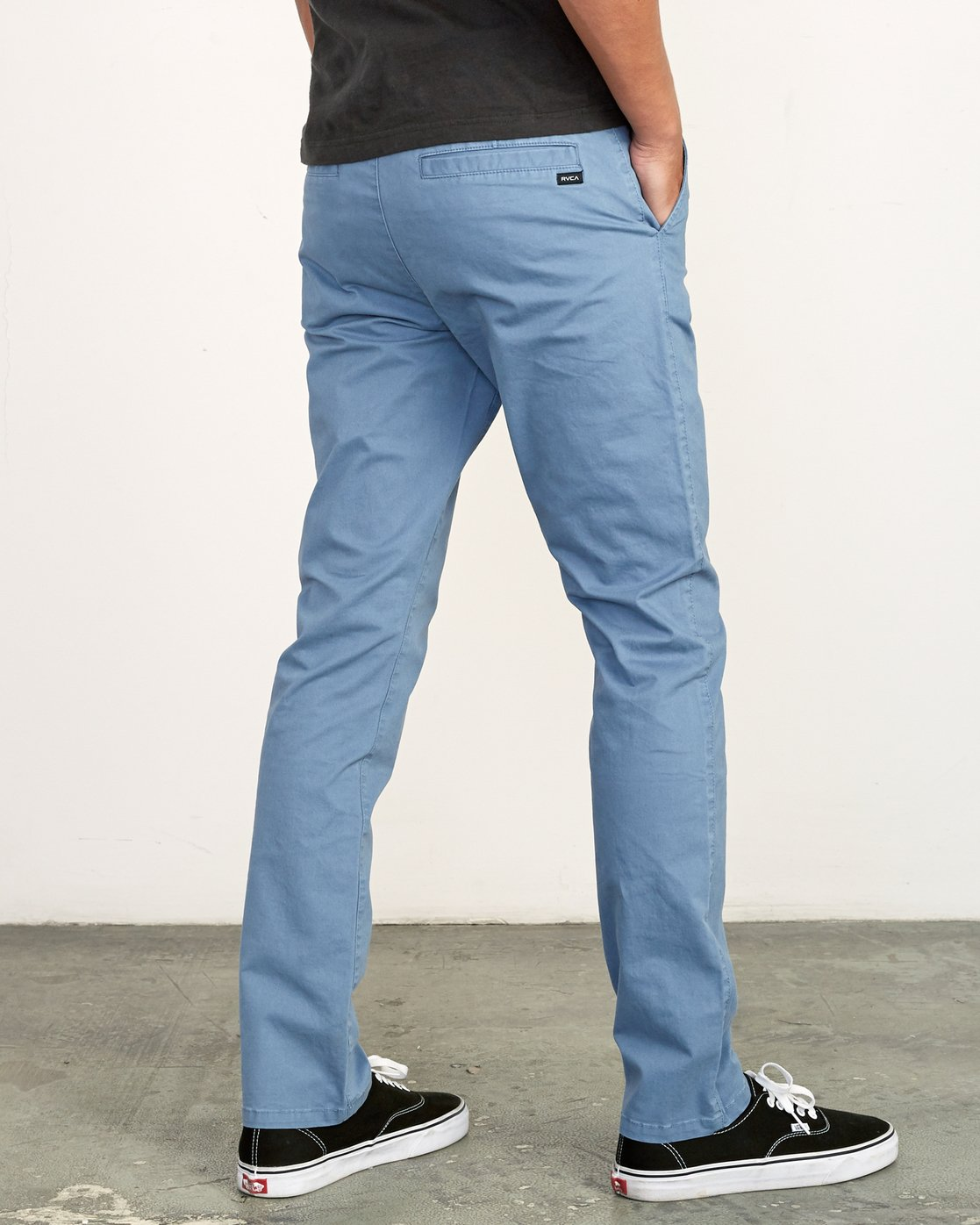 4 Daggers Slim-Straight Chino Pants Blue M309QRDC RVCA