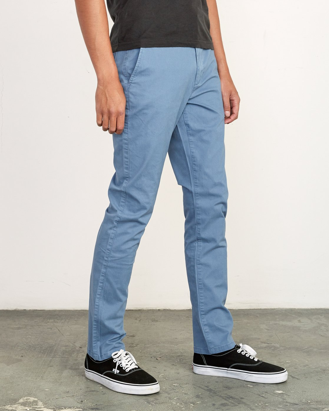 6 Daggers Slim-Straight Chino Pants Red M309QRDC RVCA