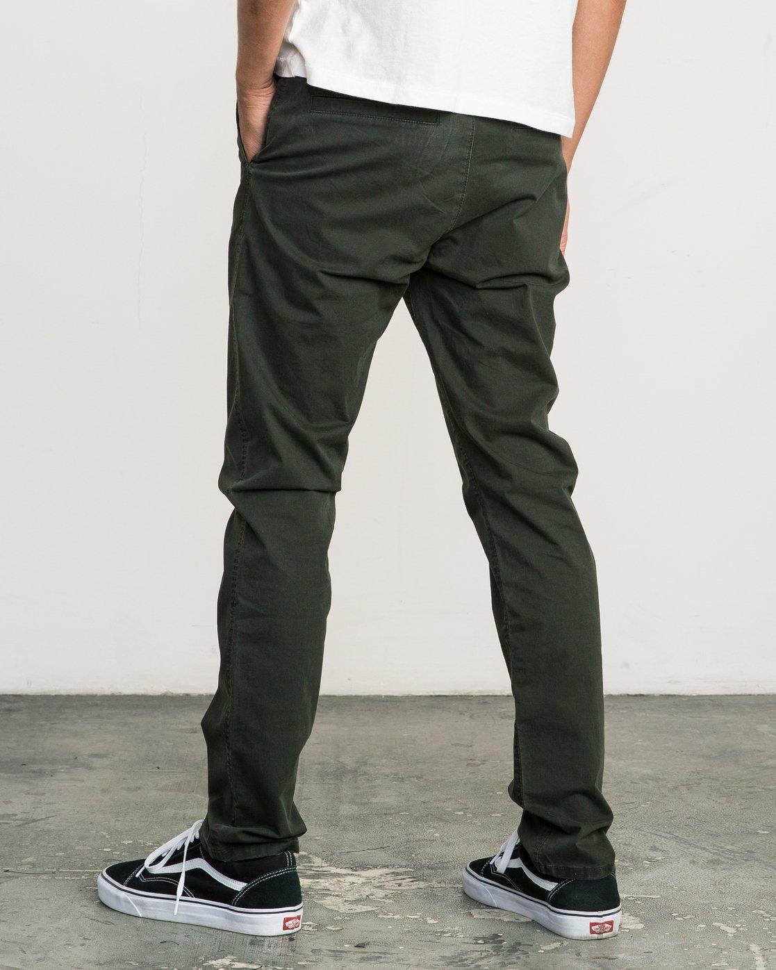 2 Daggers Slim-Straight Chino Pant Camo M309QRDC RVCA