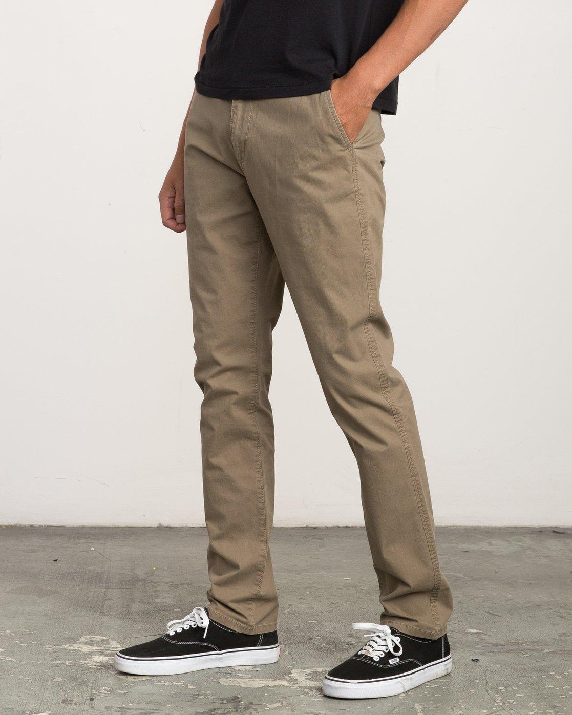 2 Daggers Slim-Straight Chino Pant White M309QRDC RVCA