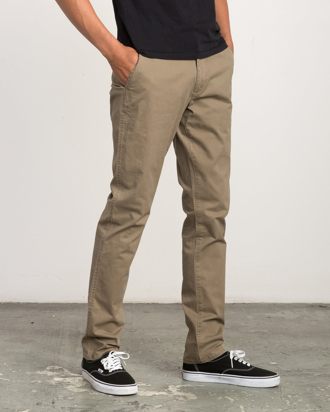 5 Daggers Slim-Straight Chino Pant White M309QRDC RVCA