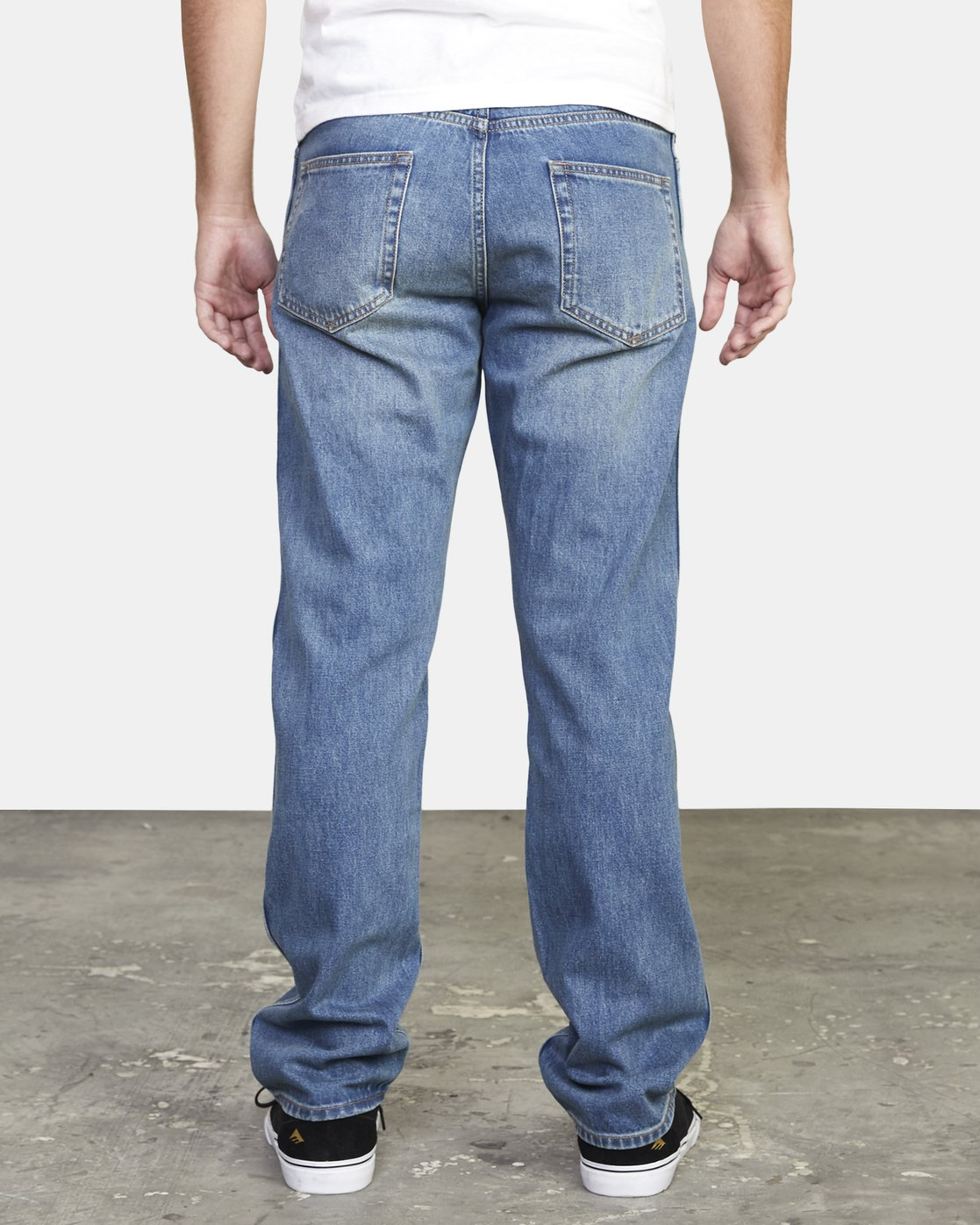 3 week-end STRAIGHT FIT DENIM Black M3103RWK RVCA