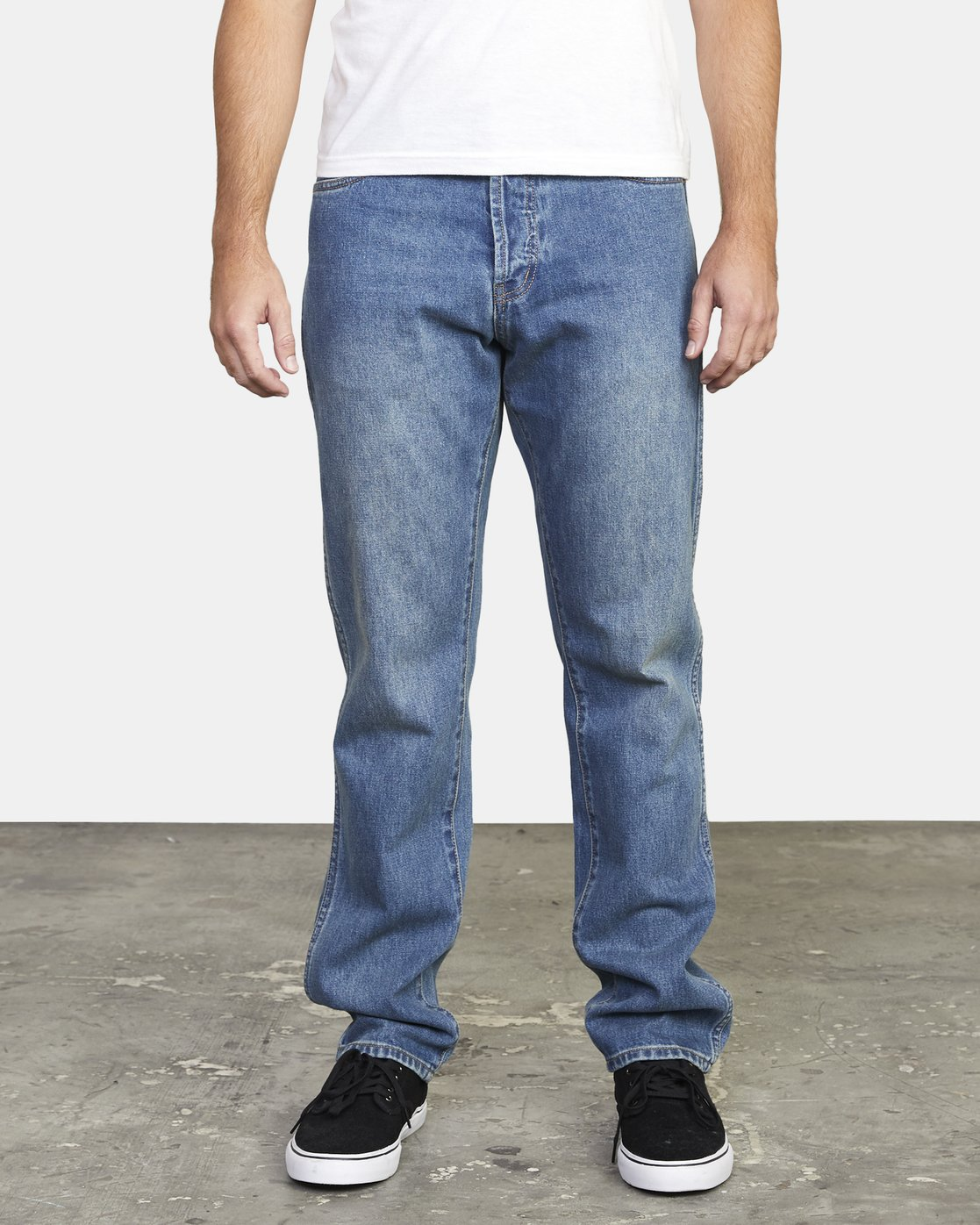 2 week-end STRAIGHT FIT DENIM Black M3103RWK RVCA
