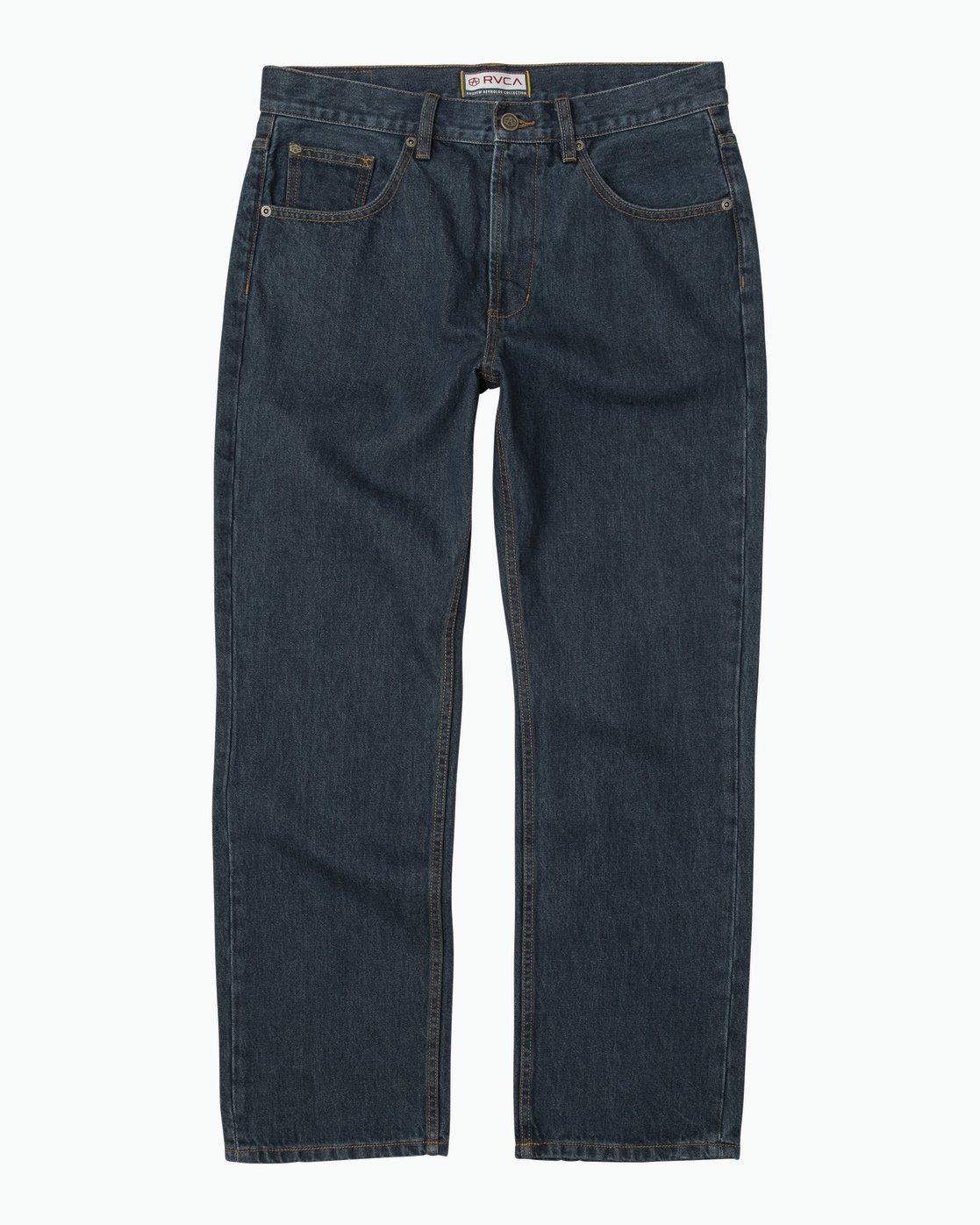 6 Andrew Reynolds Denim Jeans II Blue M310QRAR RVCA