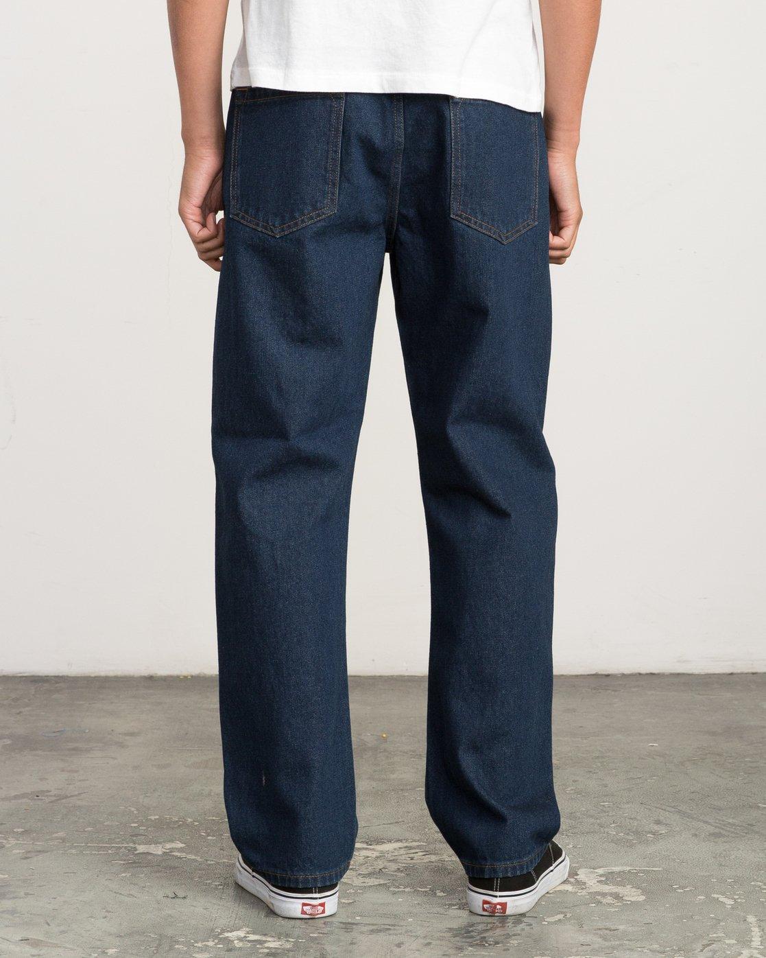 3 Andrew Reynolds Denim Jeans II Blue M310QRAR RVCA