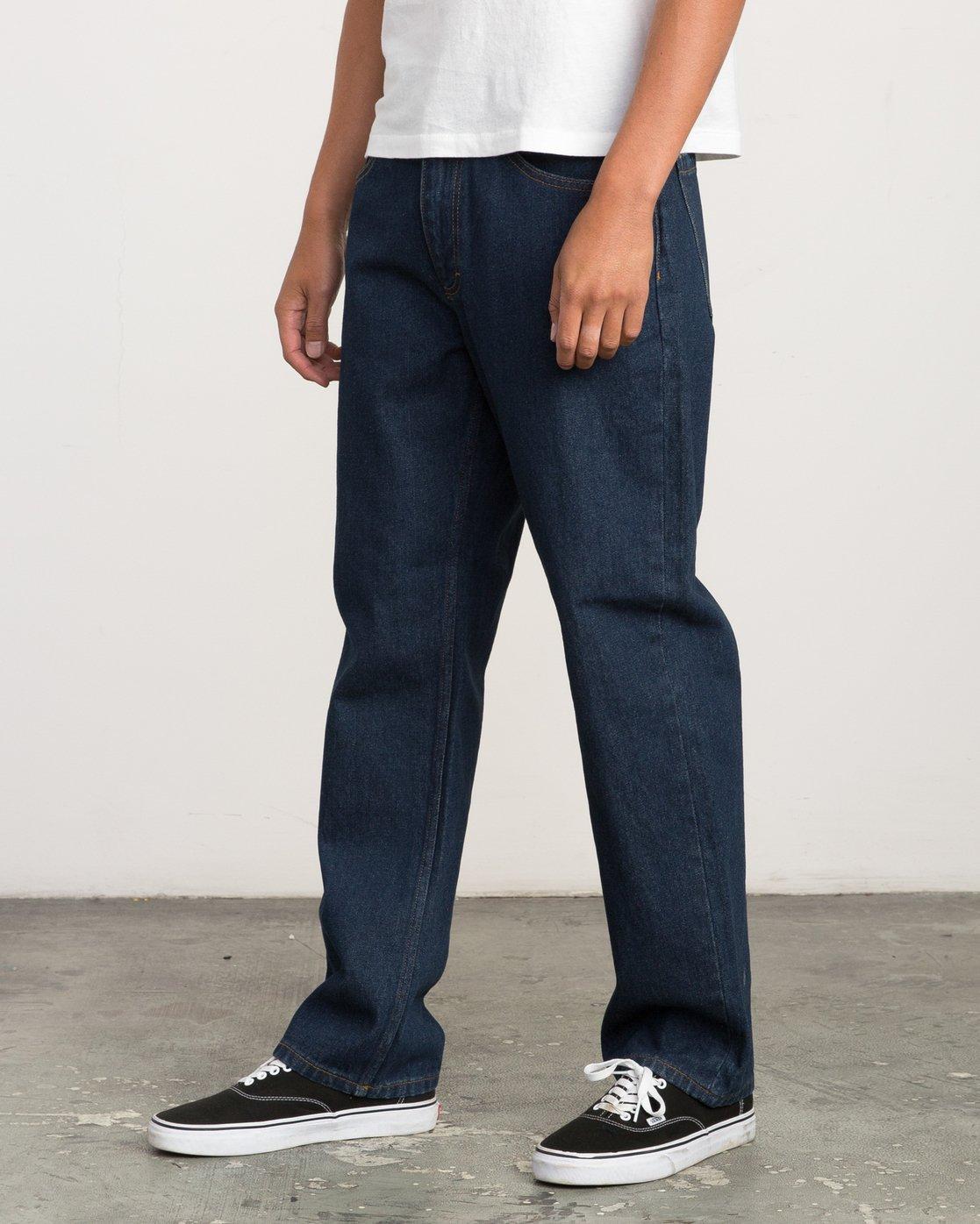 1 Andrew Reynolds Denim Jeans II Blue M310QRAR RVCA