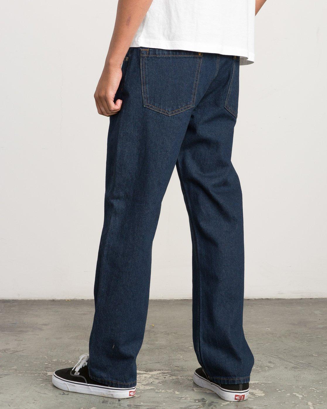 2 Andrew Reynolds Denim Jeans II Green M310QRAR RVCA