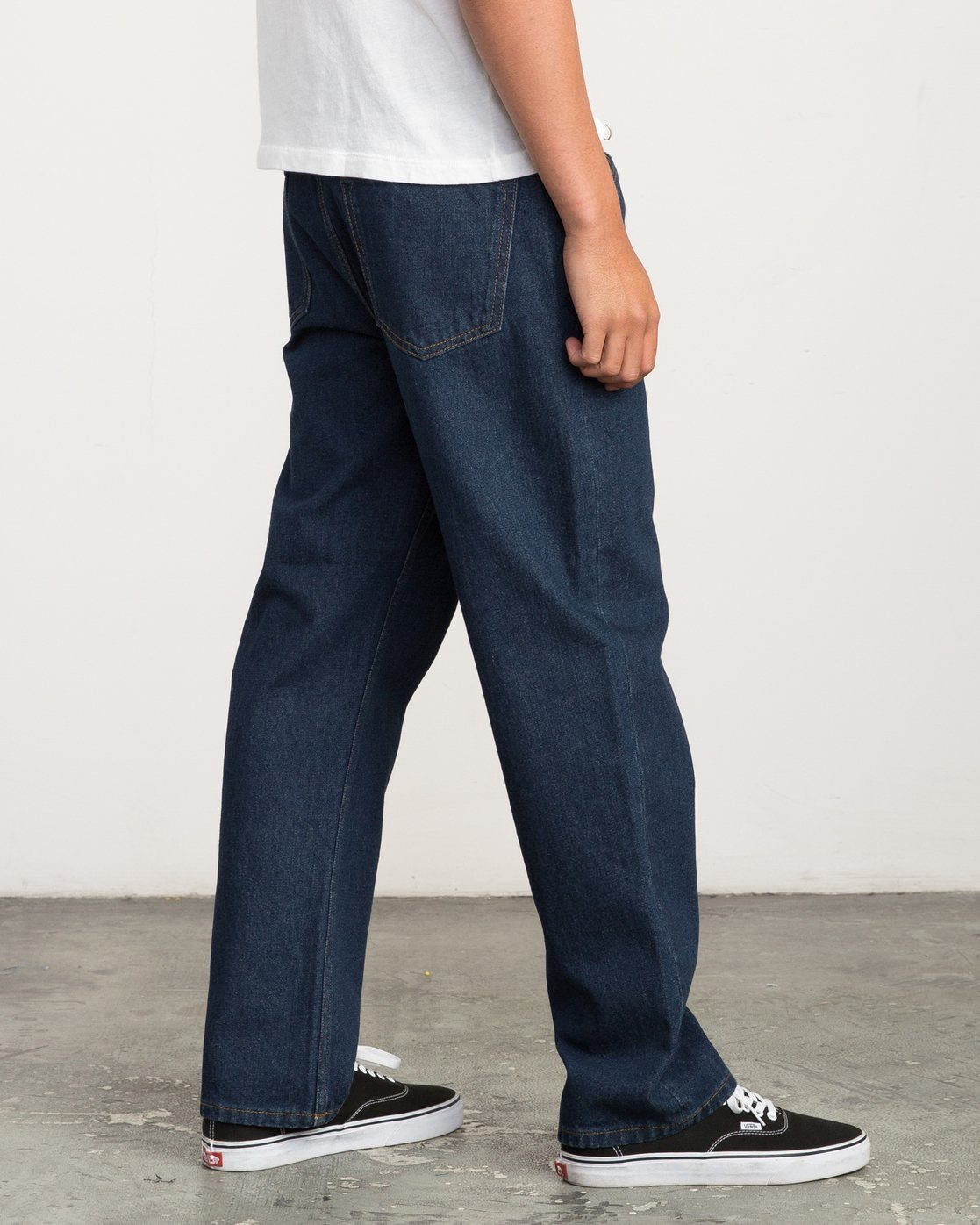 4 Andrew Reynolds Denim Jeans II Green M310QRAR RVCA