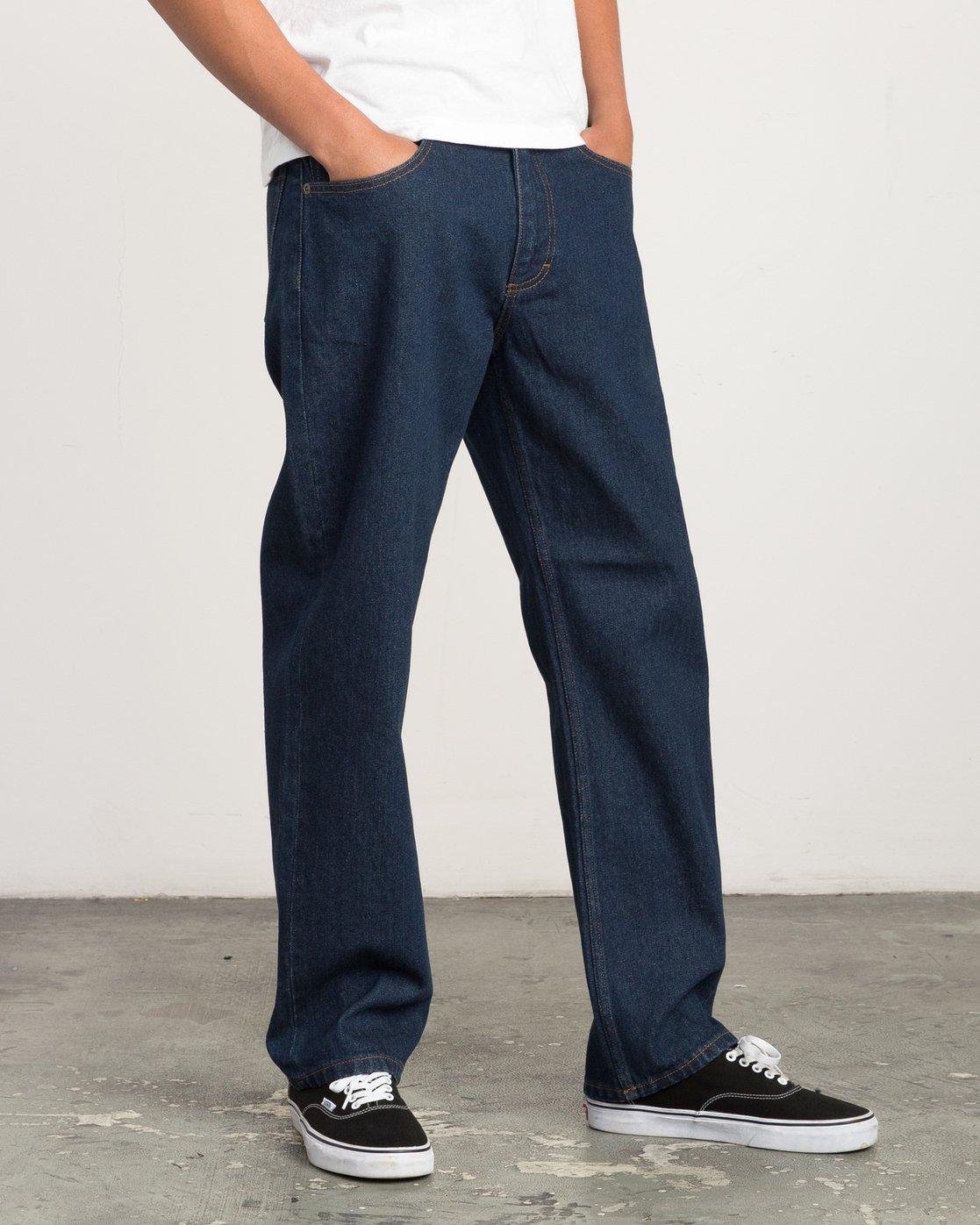 5 Andrew Reynolds Denim Jeans II Green M310QRAR RVCA