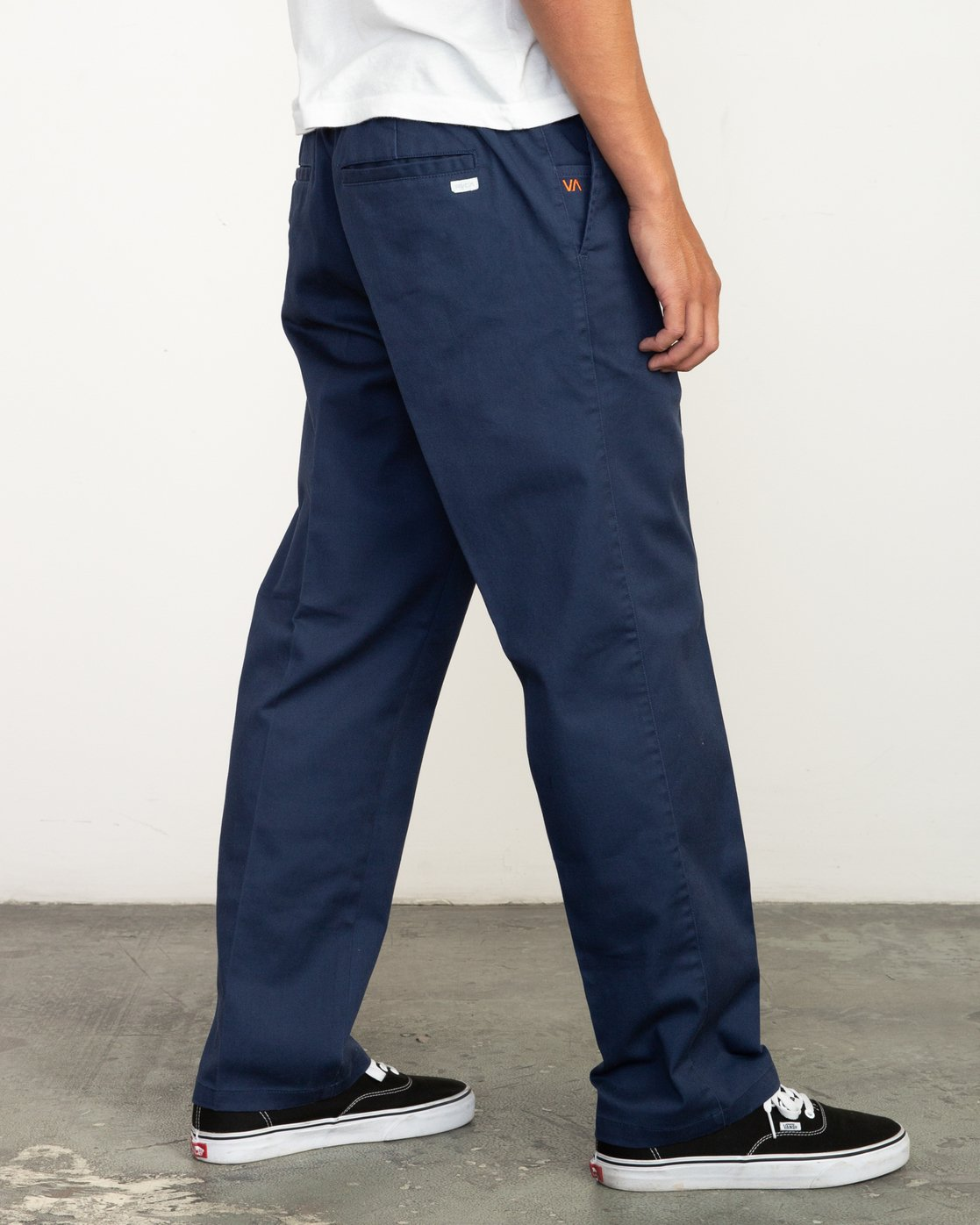 3 Big RVCA Neutral Pants Blue M310QRBR RVCA