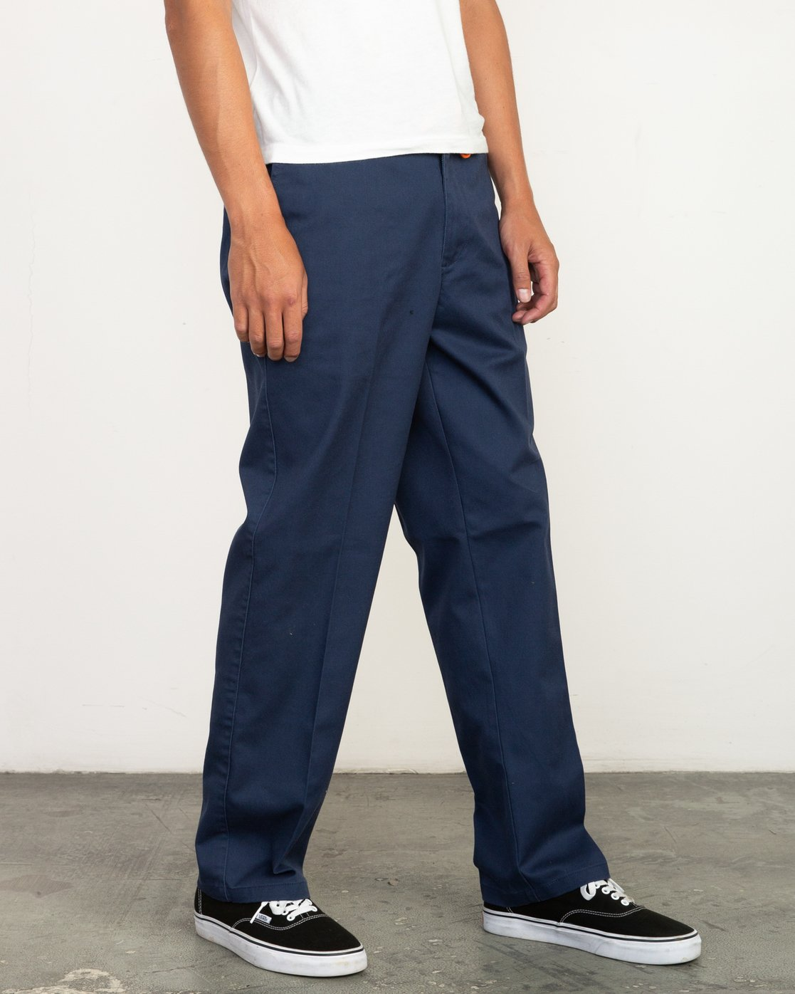 4 Big RVCA Neutral Pants Blue M310QRBR RVCA