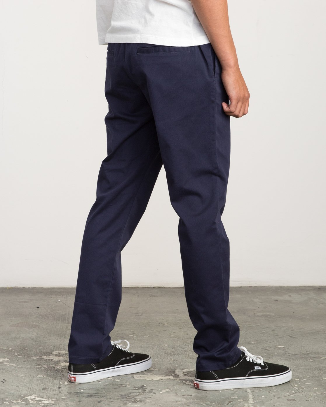 4 A.T. Dayshift Elastic Pant II Blue M310QRDS RVCA