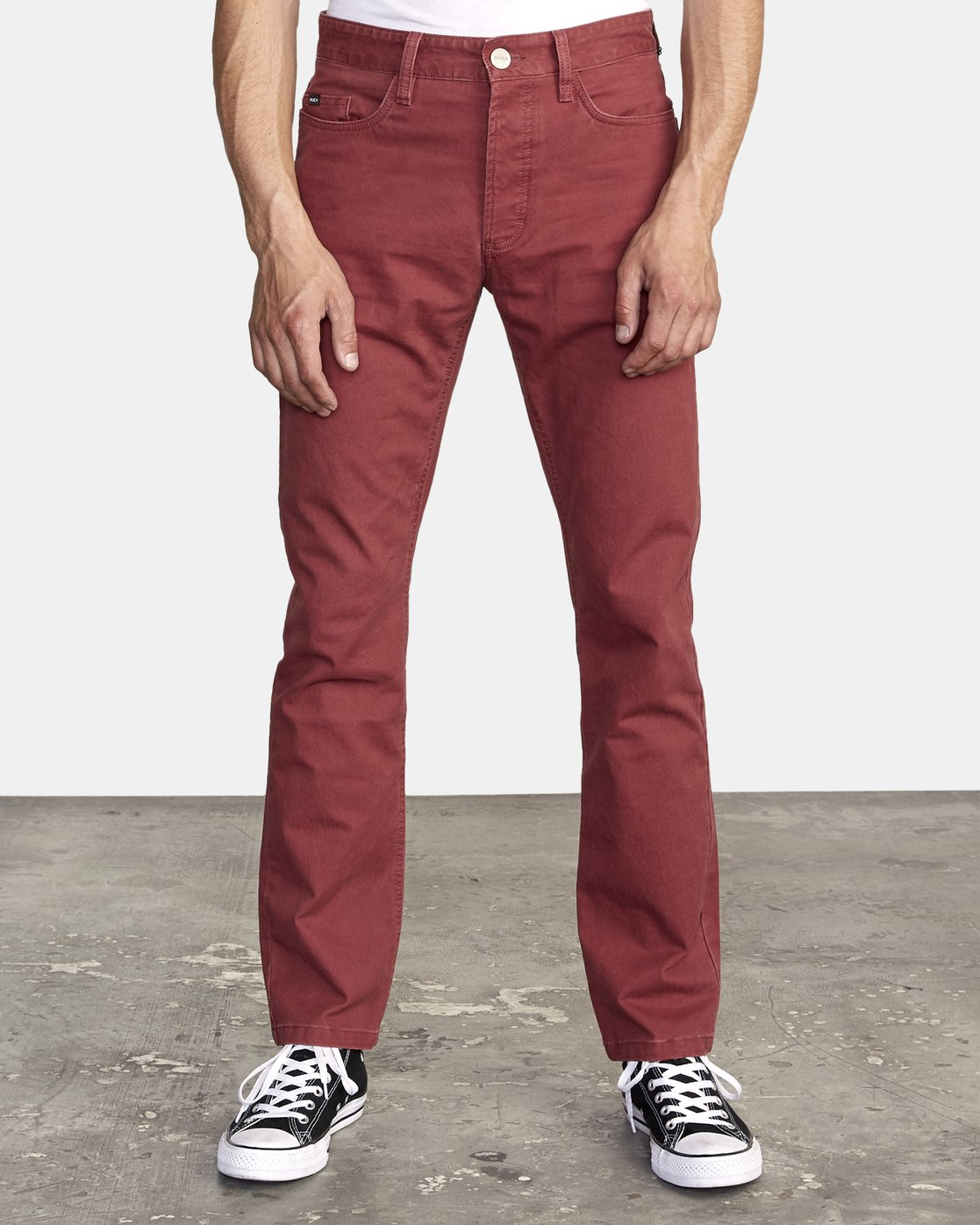 0 Week-End 5-Pocket Pant Red M310VRWP RVCA