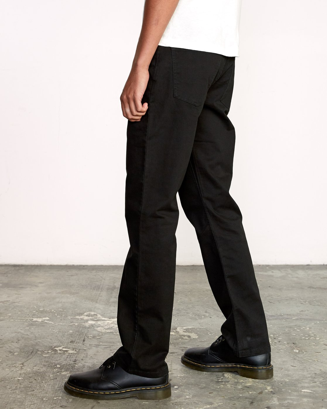 4 week-end 5-Pocket straight fit Pant Black M310VRWP RVCA