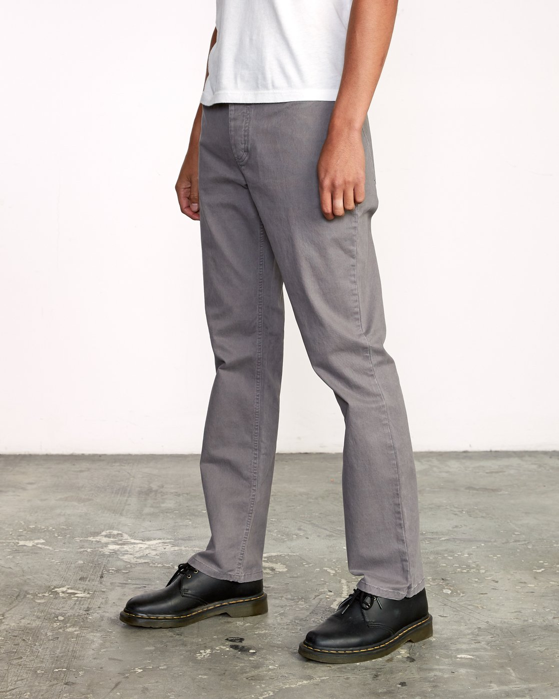 3 week-end 5-Pocket straight fit Pant Grey M310VRWP RVCA