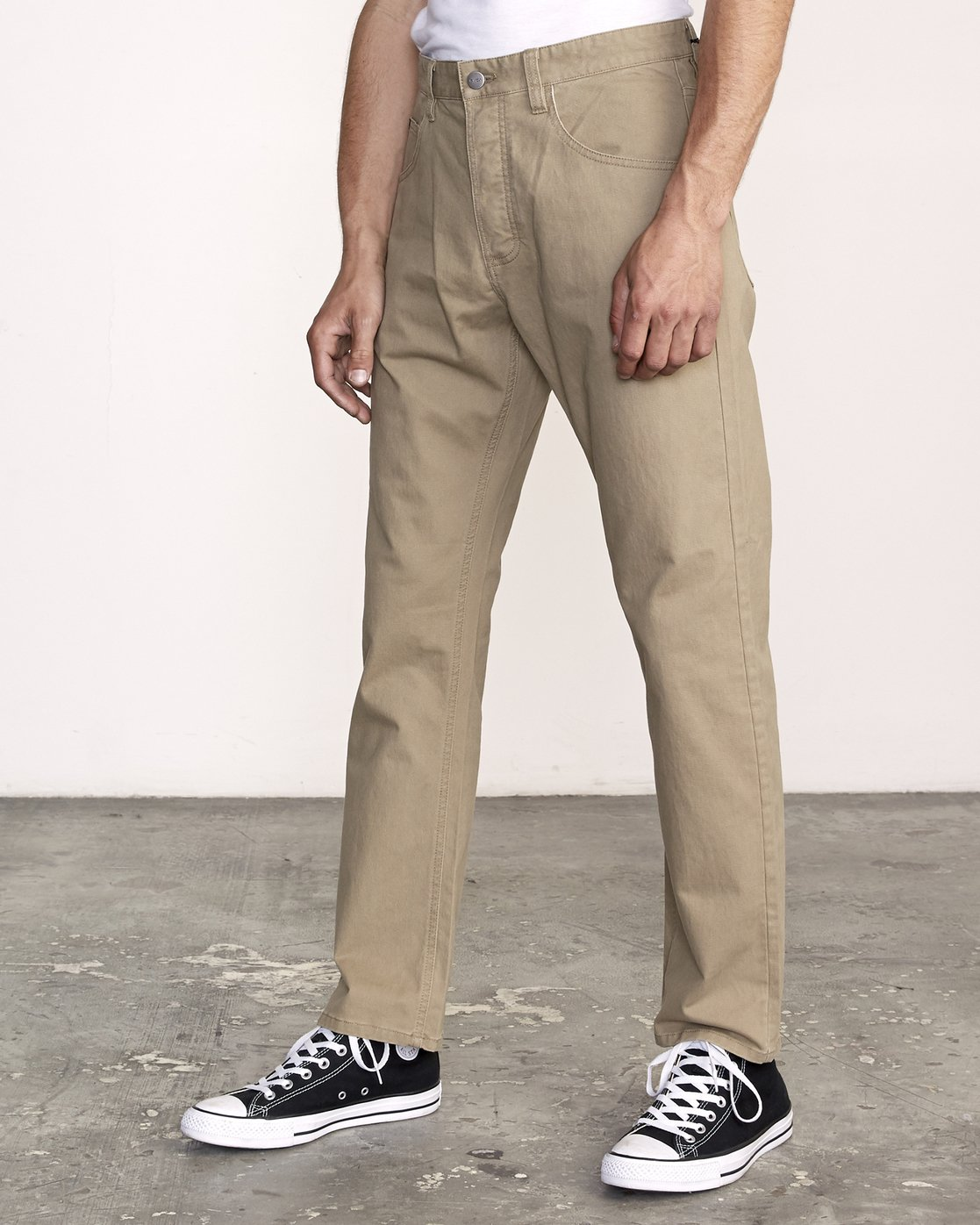 2 week-end 5-Pocket straight fit Pant White M310VRWP RVCA