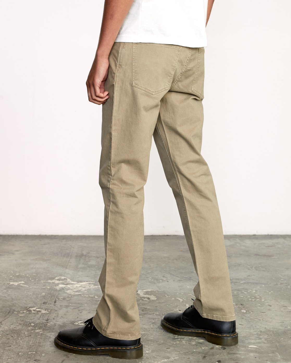 3 week-end 5-Pocket straight fit Pant White M310VRWP RVCA