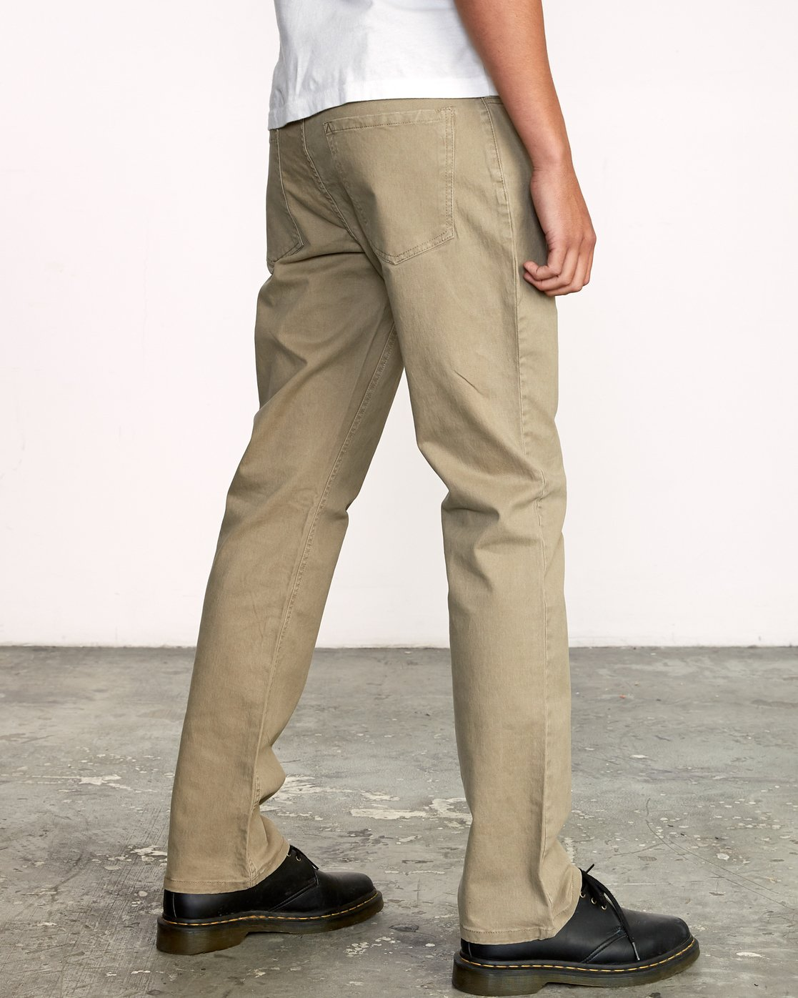 4 week-end 5-Pocket straight fit Pant White M310VRWP RVCA
