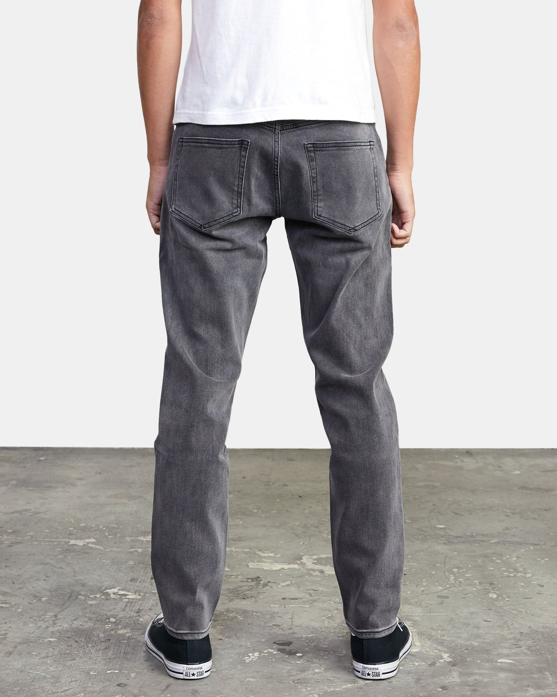 3 DAGGERS SLIM FIT DENIM Grey M3113RDA RVCA