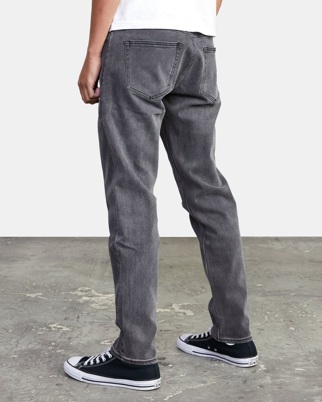5 DAGGERS SLIM FIT DENIM Grey M3113RDA RVCA