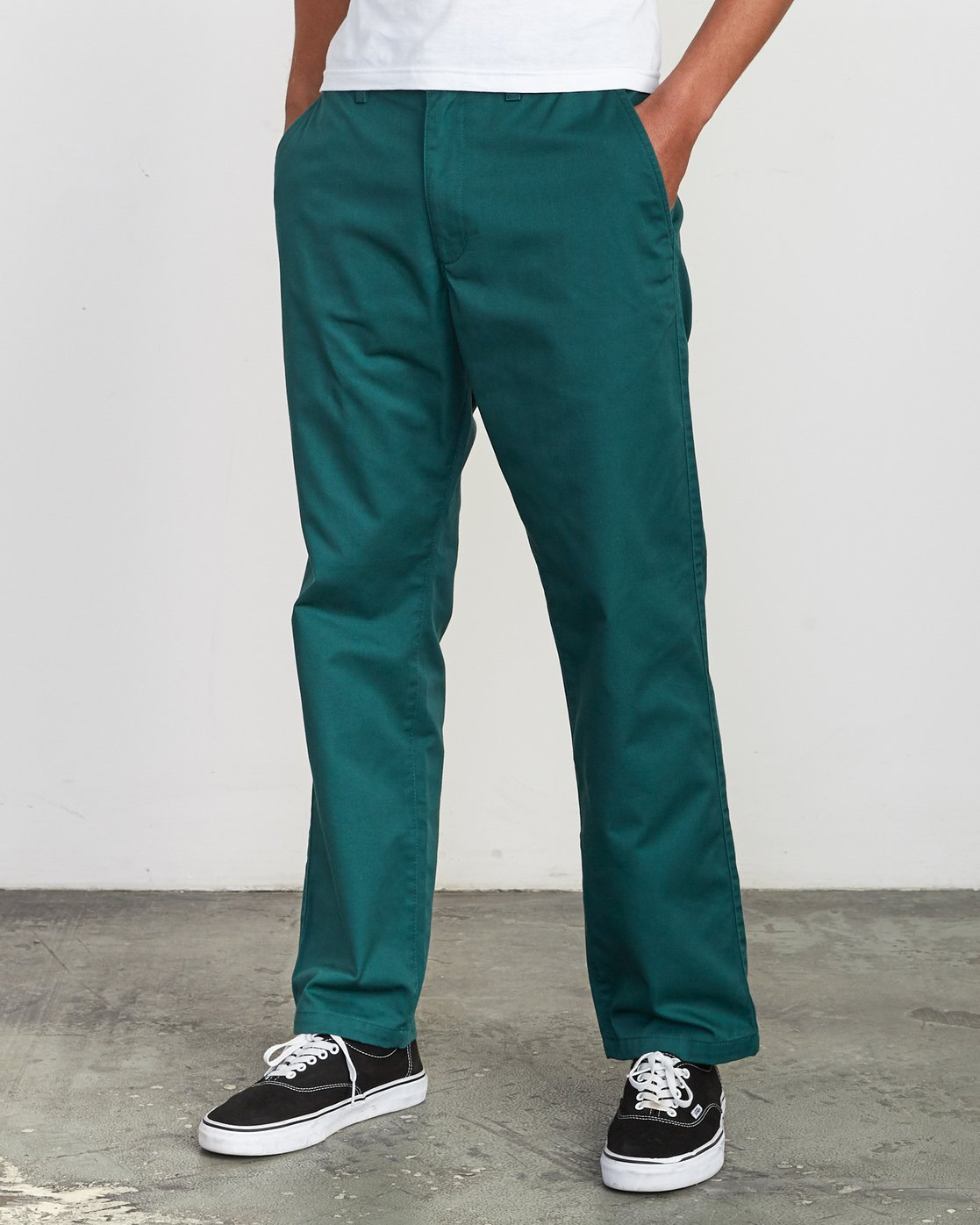 2 Americana Chino Pant Grey M311VRAC RVCA