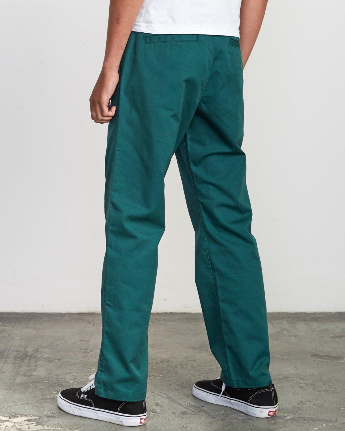 3 Americana Chino Pant Grey M311VRAC RVCA
