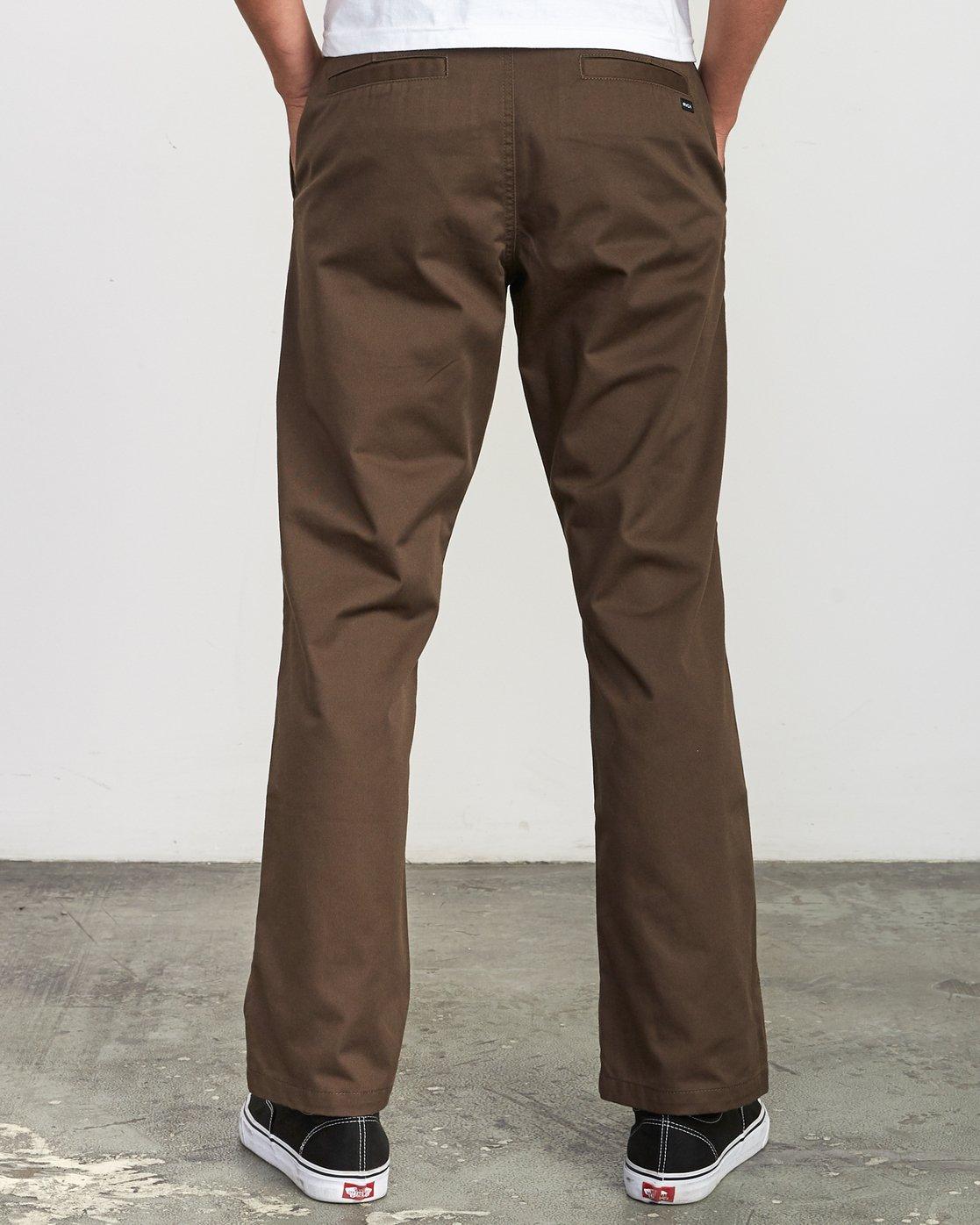 1 Americana Chino Pant Brown M311VRAC RVCA