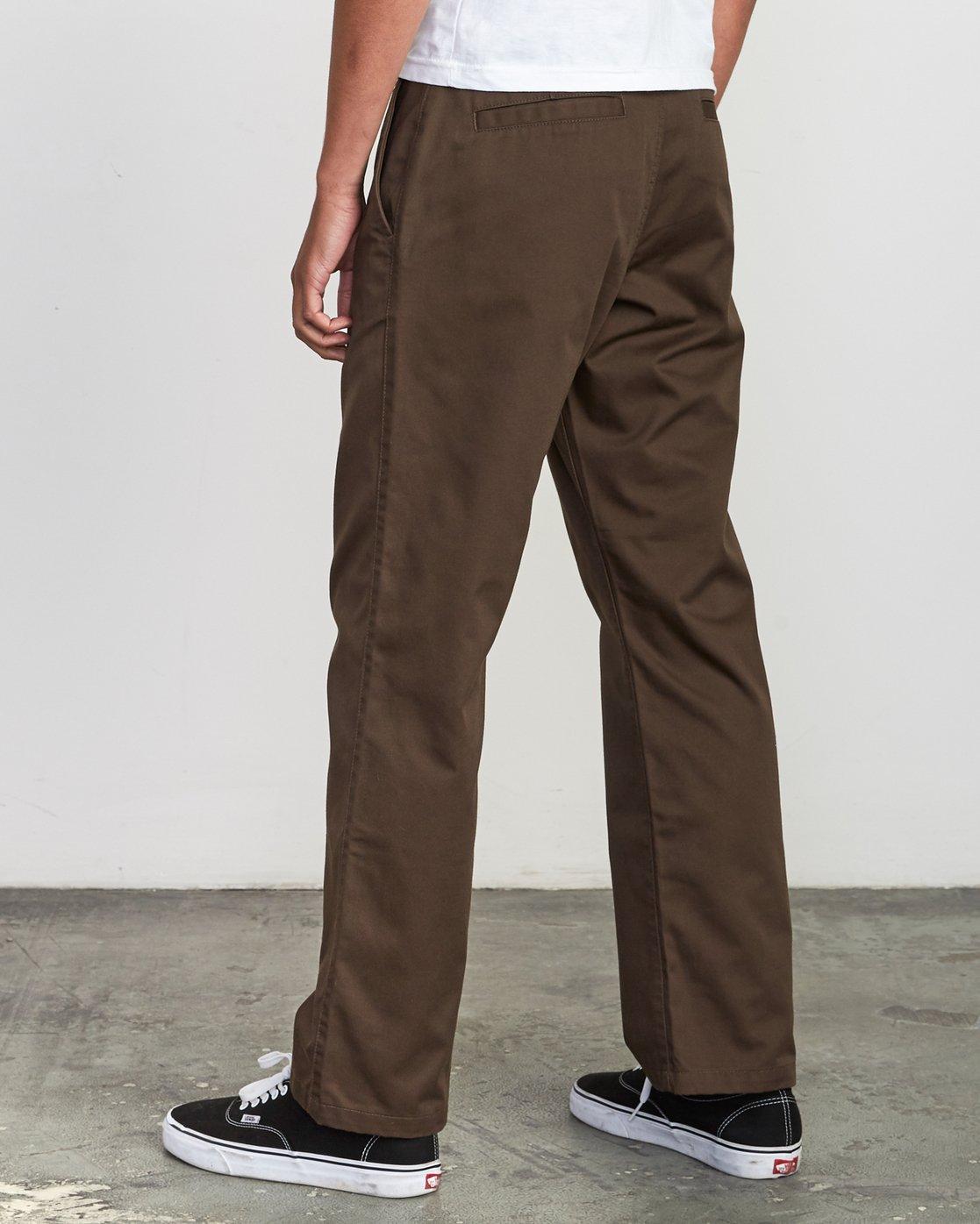 2 Americana Chino Pant Brown M311VRAC RVCA