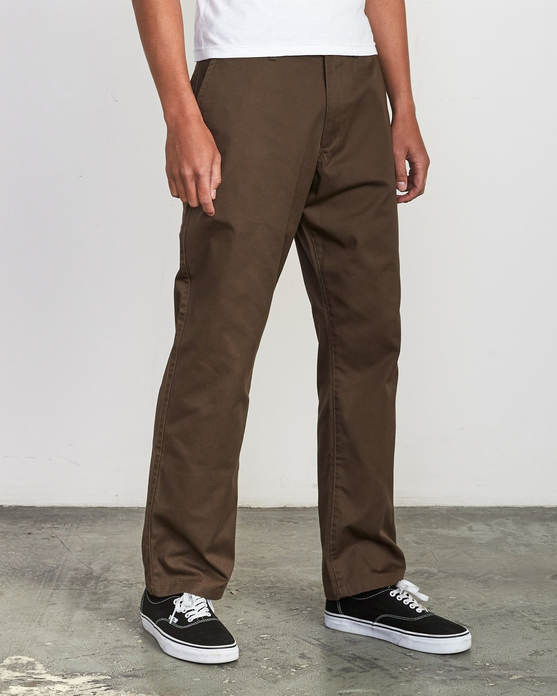 5 Americana Chino Pant Brown M311VRAC RVCA