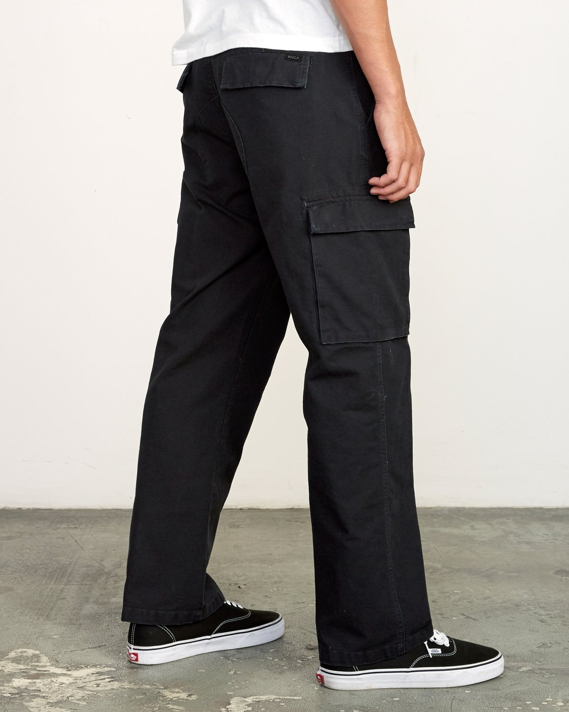 4 Americana relaxed fit Cargo Pant Black M312VRCA RVCA
