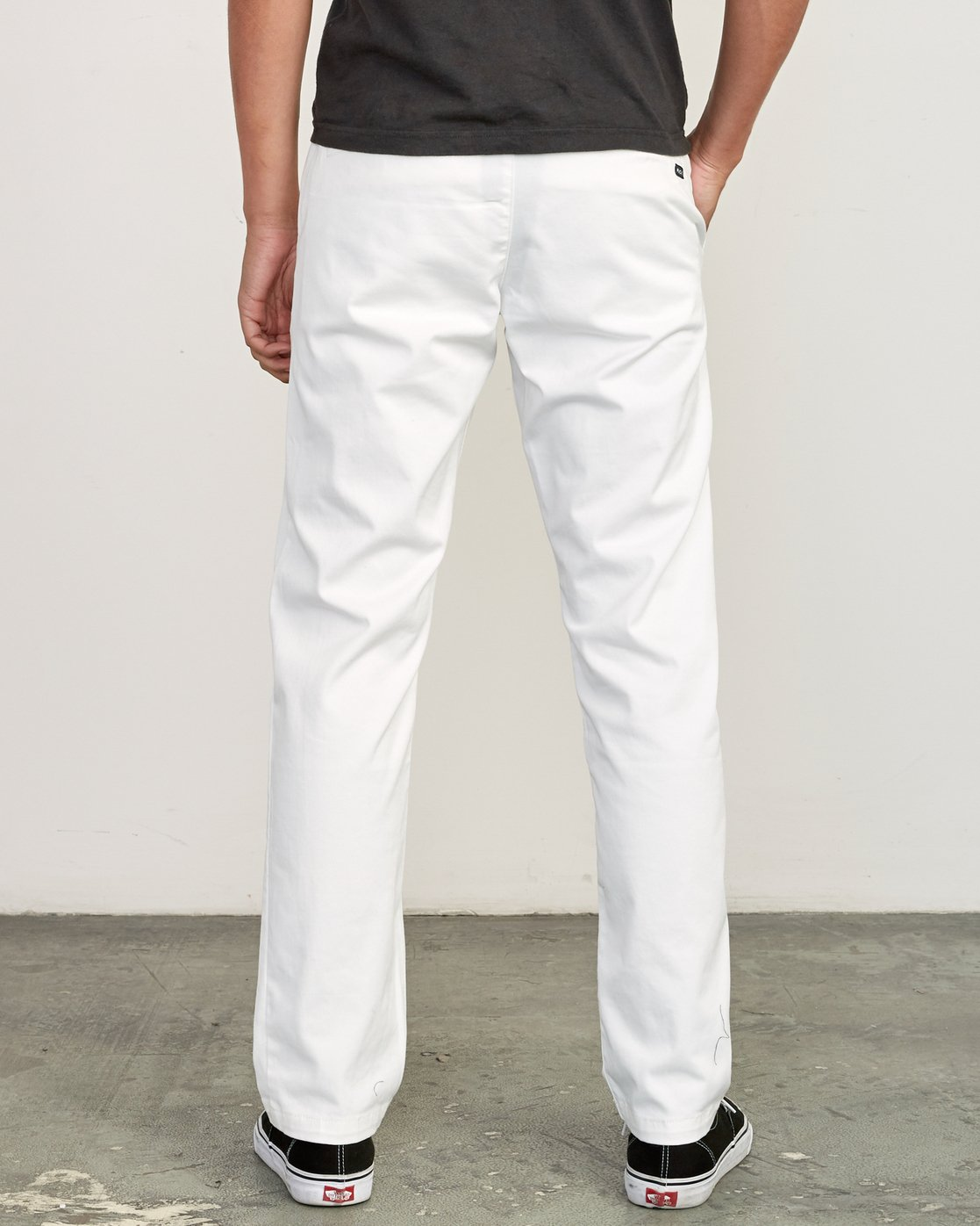 1 week-end Stretch straight fit Pant White M314VRWS RVCA