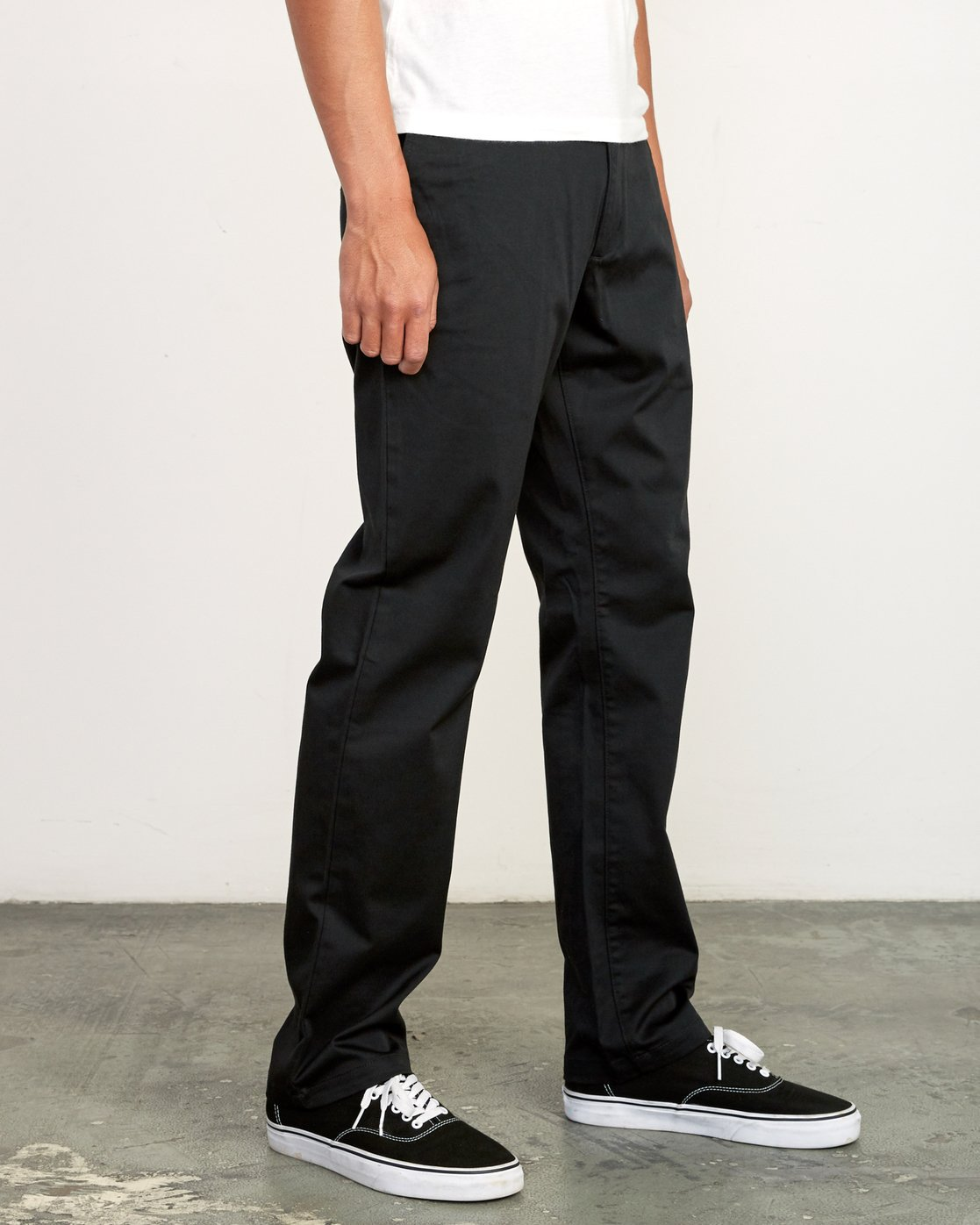 5 week-end Stretch straight fit Pant Black M314VRWS RVCA