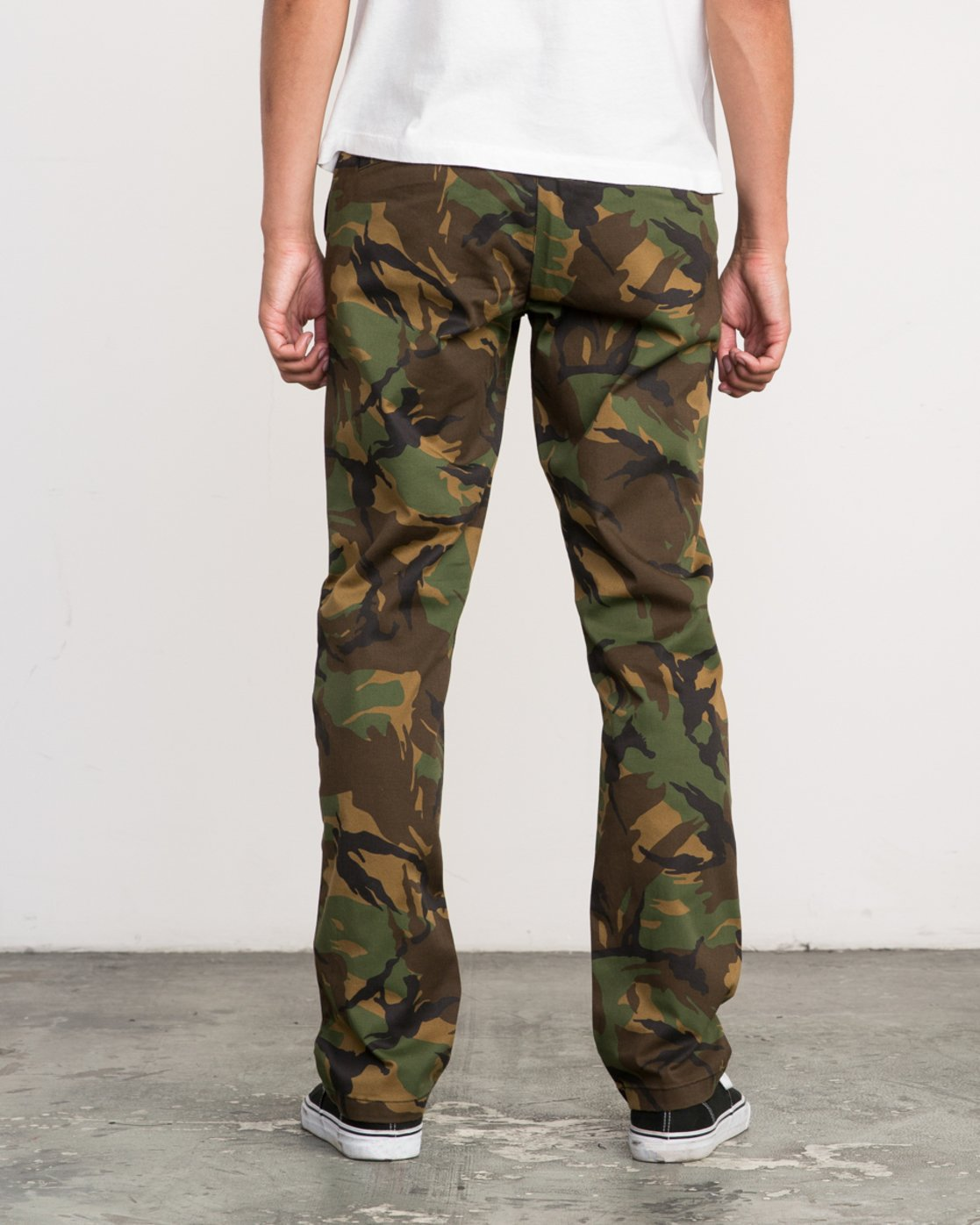 4 Week-End Stretch Pant Camo M314VRWS RVCA