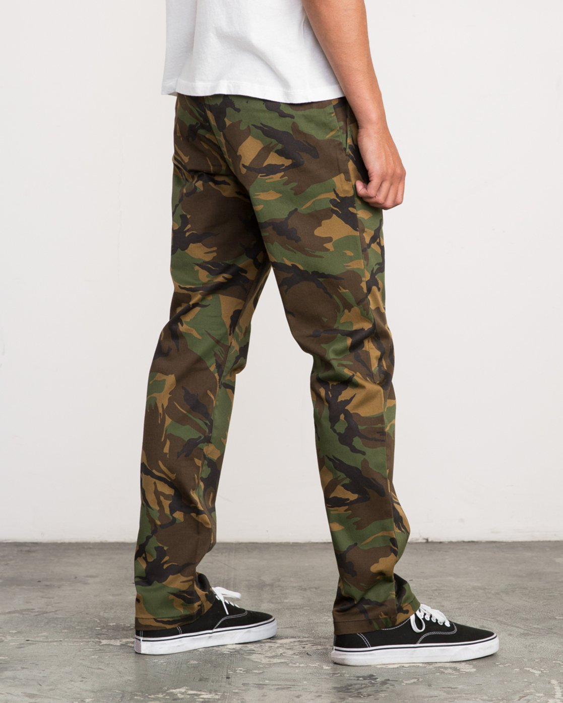 5 WeekEnd Stretch straight fit Pant Brown M314VRWS RVCA
