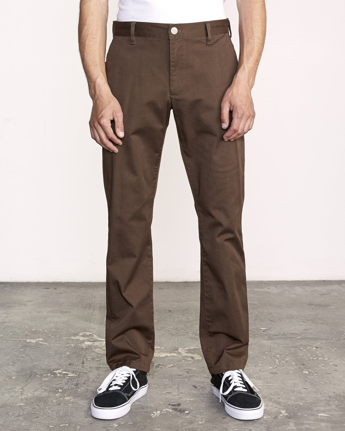 0 Week-End Stretch Pant Brown M314VRWS RVCA