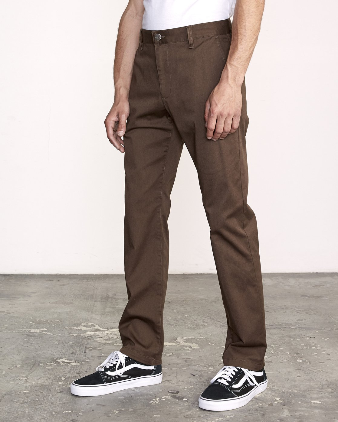2 WeekEnd Stretch straight fit Pant Brown M314VRWS RVCA