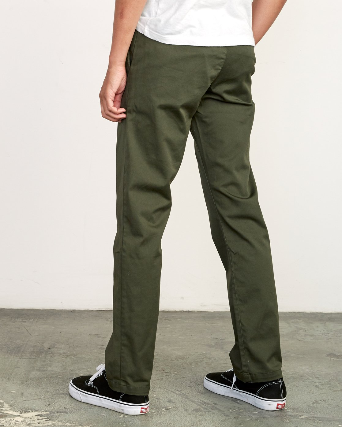 2 WeekEnd Stretch straight fit Pant Green M314VRWS RVCA
