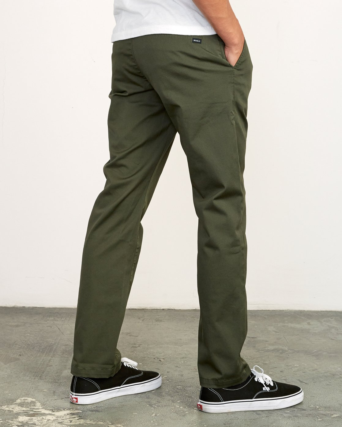 3 WeekEnd Stretch straight fit Pant Green M314VRWS RVCA