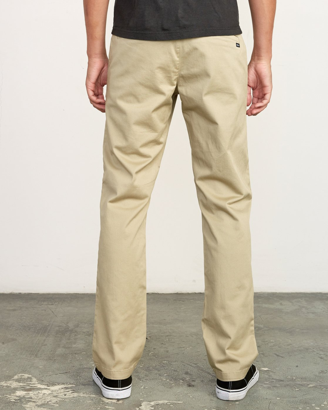 1 week-end Stretch straight fit Pant Beige M314VRWS RVCA