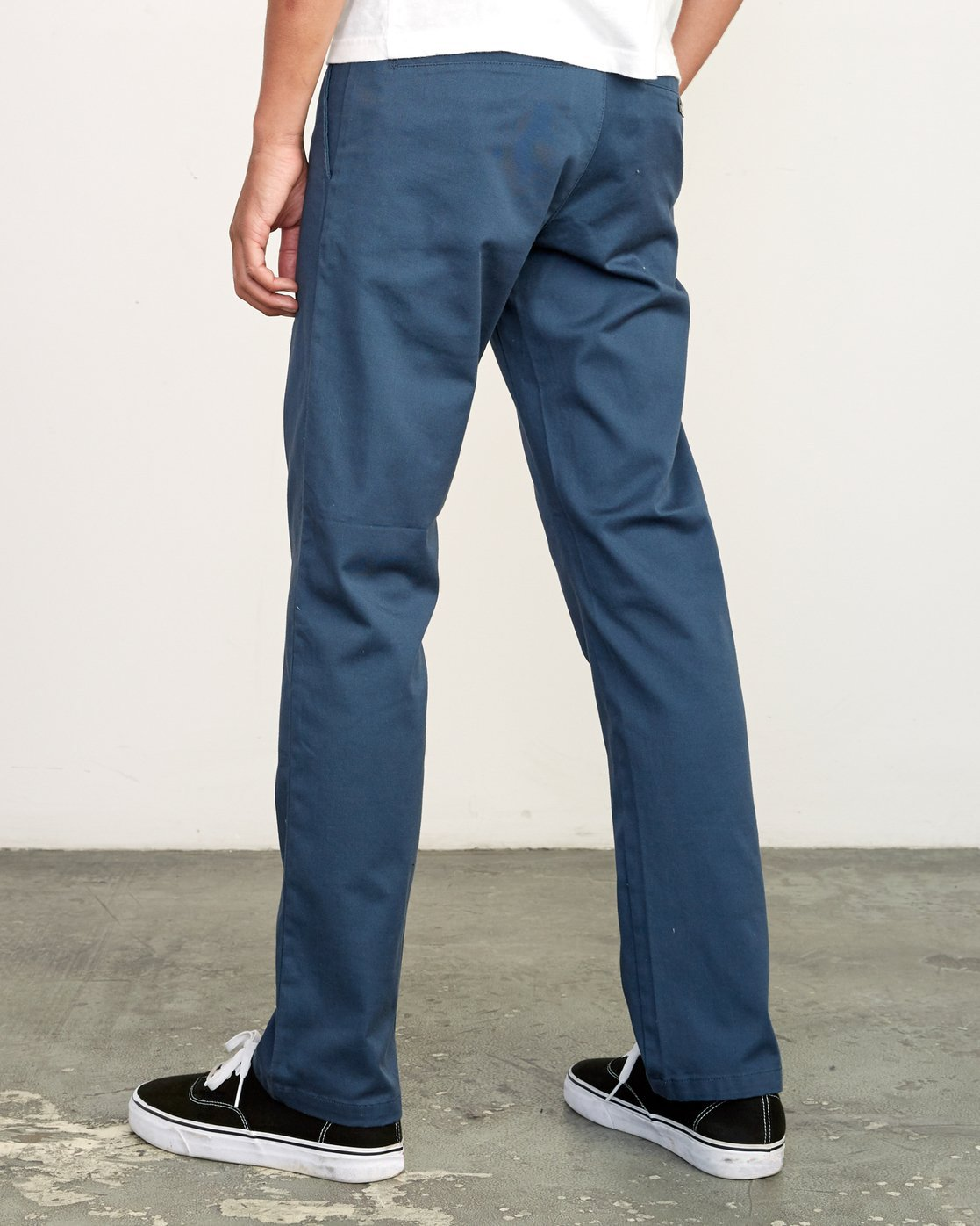 3 week-end Stretch straight fit Pant Blue M314VRWS RVCA