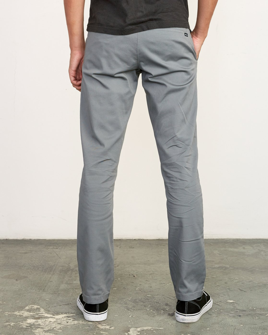 1 week-end Stretch straight fit Pant Grey M314VRWS RVCA